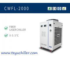 Enfriador de agua industrial para máquina de soldadura láser de fibra