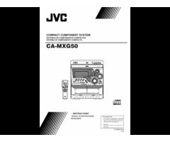 Equipo de Audio JVC MX-G50 (Vendido!!!)